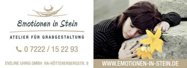 Anzeige Uhrig Atelier für Grabgestaltung Eveline Uhrig GmbH