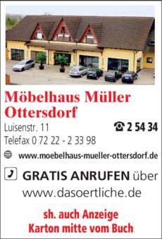 Anzeige Müller Möbel
