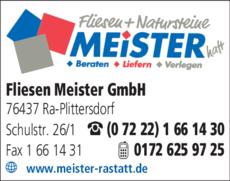 Anzeige Meister GmbH