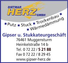 Anzeige Herz Dietmar GmbH