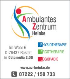 Anzeige Ambulantes Zentrum Heinke