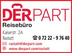 Anzeige DERPART Reisebüro