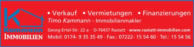 Anzeige Kammann Timo Immobilien