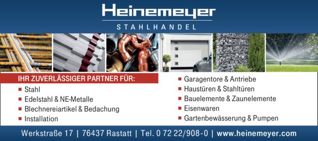 Anzeige Heinemeyer Stahlhandel