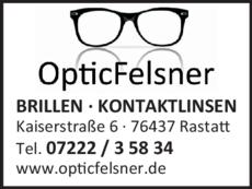 Anzeige Felsner OPTIC