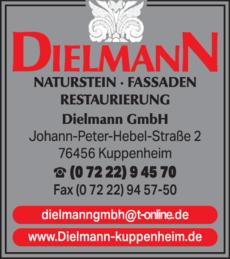 Anzeige Dielmann GmbH, Steinmetz-Betrieb