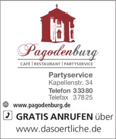 Anzeige Pagodenburg