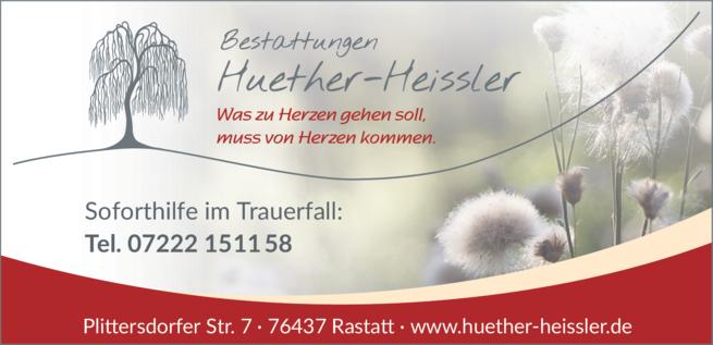 Anzeige Huether-Heissler