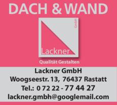 Anzeige Lackner GmbH