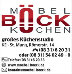 Bock Gmbh Mobel In Kempten St Mang Im Das Telefonbuch Finden Tel
