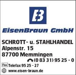 Eisen Braun Gmbh In Memmingen 0833195