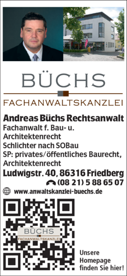 anwaltskanzlei b chs in friedberg 0821588. Black Bedroom Furniture Sets. Home Design Ideas