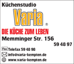 Kuchenstudio Varia In Kempten Zollhaus Im Das Telefonbuch Finden