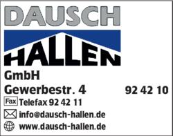Atemberaubend Dausch Hallen in Markt Rettenbach | 0839292... &QK_04