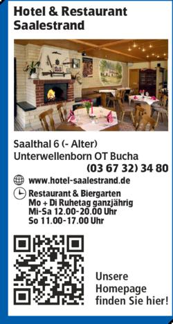 Hotel Saalestrand In Unterwellenborn 0367323