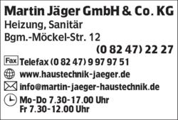 Jäger Haustechnik martin jäger gmbh co kg in bad wörishofen im das telefonbuch