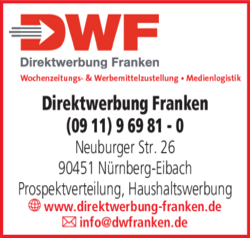 Anzeige Direktwerbung Franken