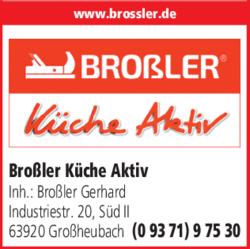 Brossler Kuche Aktiv In Grossheubach Im Das Telefonbuch Finden