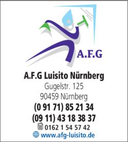 Anzeige A.F.G Gebäudereinigung Luisito