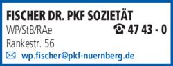 Anzeige Fischer Dr. Pkf Sozietät