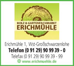 Erichmühle Wendelstein erichmühle gmbh holz und gartenfachmarkt gmbh in wendelstein