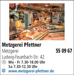 Anzeige Pfettner Wolfgang