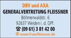 dbv und axa generalvertretung franz fleissner in weiden. Black Bedroom Furniture Sets. Home Design Ideas