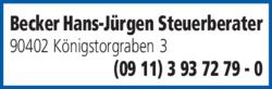 Anzeige Zeiler Stefan Steuerberater