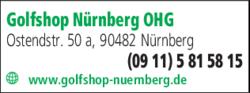 Anzeige Golfshop Nürnberg OHG