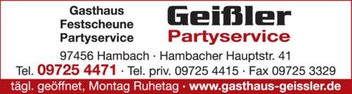 gasthaus geißler hambach