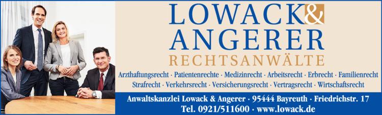 rechtsanw lte lowack angerer in bayreuth 0921511. Black Bedroom Furniture Sets. Home Design Ideas