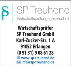 Anzeige SP Treuhand GmbH