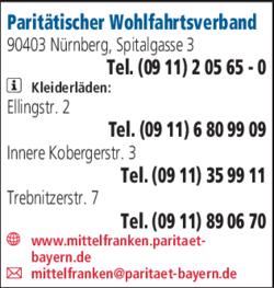 Paritatischer Wohlfahrtsverband In Nurnberg In Das Ortliche