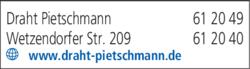 Anzeige DRAHT PIETSCHMANN