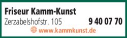 Anzeige Friseur Kamm-Kunst