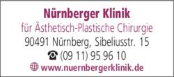 Anzeige Nürnberger Klinik