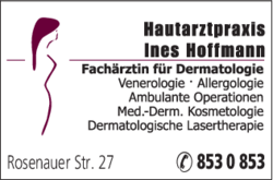 hoffmann ines hautarztpraxis in coburg 0956185. Black Bedroom Furniture Sets. Home Design Ideas