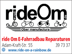 Anzeige Ride om
