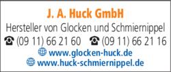 Anzeige HUCK J. A.