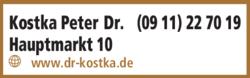 Anzeige Kostka Peter Dr.