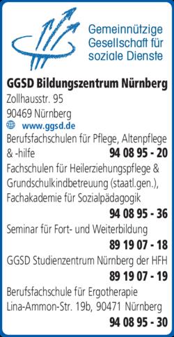 Anzeige Bildungszentrum f. Pflege, Gesundheit und Soziales