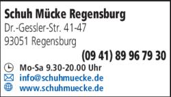 Schuh Mücke Regensburg in Regensburg | 0941899