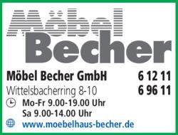 Möbel Becher GmbH in Bayreuth | 0921696...