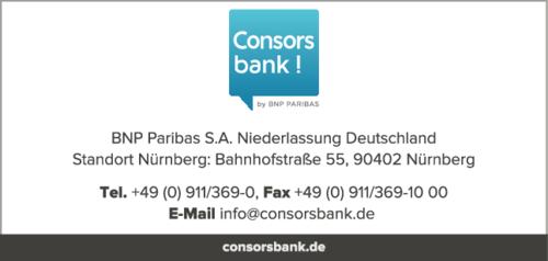 consorsbank zweigniederlassung deutschland in n rnberg. Black Bedroom Furniture Sets. Home Design Ideas