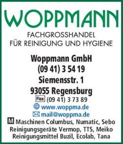woppmann gmbh in regensburg ostenviertel im das telefonbuch finden tel 0941 3 5. Black Bedroom Furniture Sets. Home Design Ideas