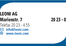 Anzeige Leoni AG
