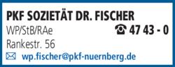 Anzeige PKF Sozietät Fischer Dr.