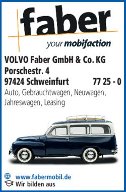 volvo faber gmbh co kg in schweinfurt s d im das telefonbuch finden tel 09721 77. Black Bedroom Furniture Sets. Home Design Ideas