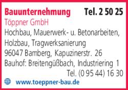 Bauunternehmen Bamberg bauunternehmung töppner gmbh in bamberg im das telefonbuch finden