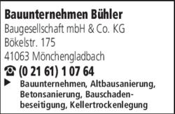 Bauunternehmen Mönchengladbach bauunternehmen bühler baugesellschaft mbh co kg in